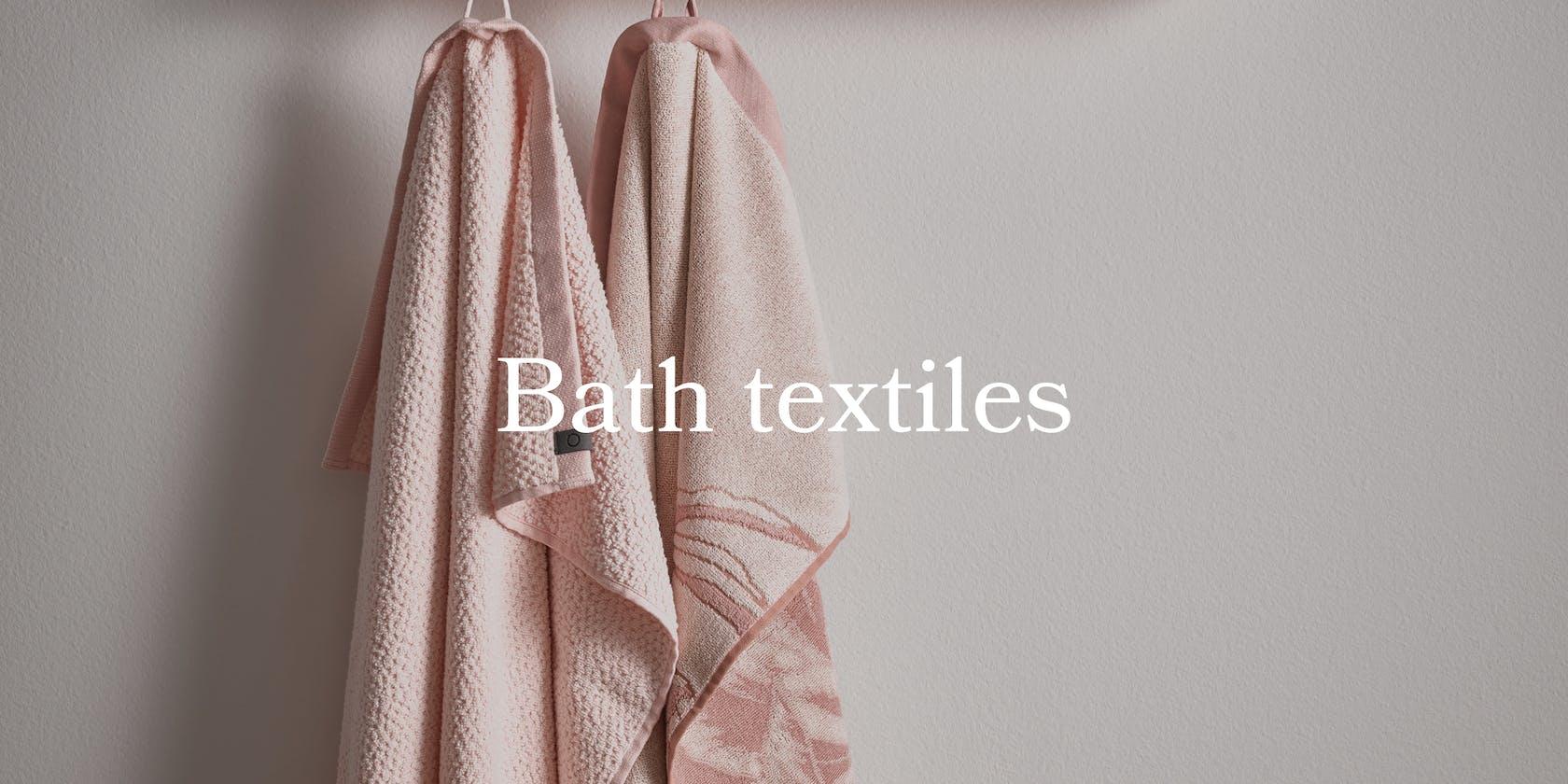 ESSENZA bath textiles