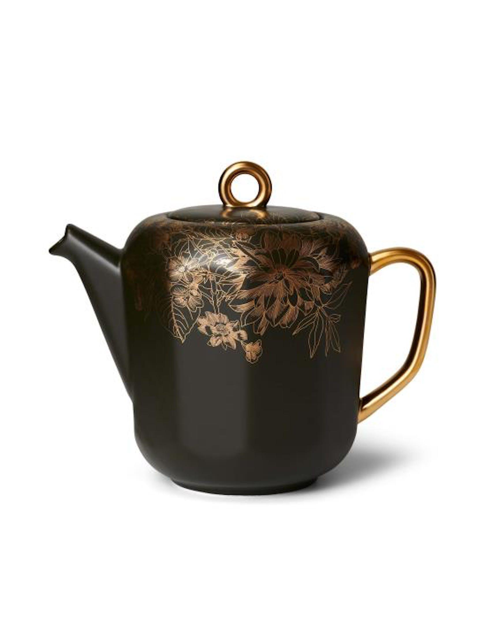 ESSENZA Masterpiece Dark Green Tea pot 1-25 liter