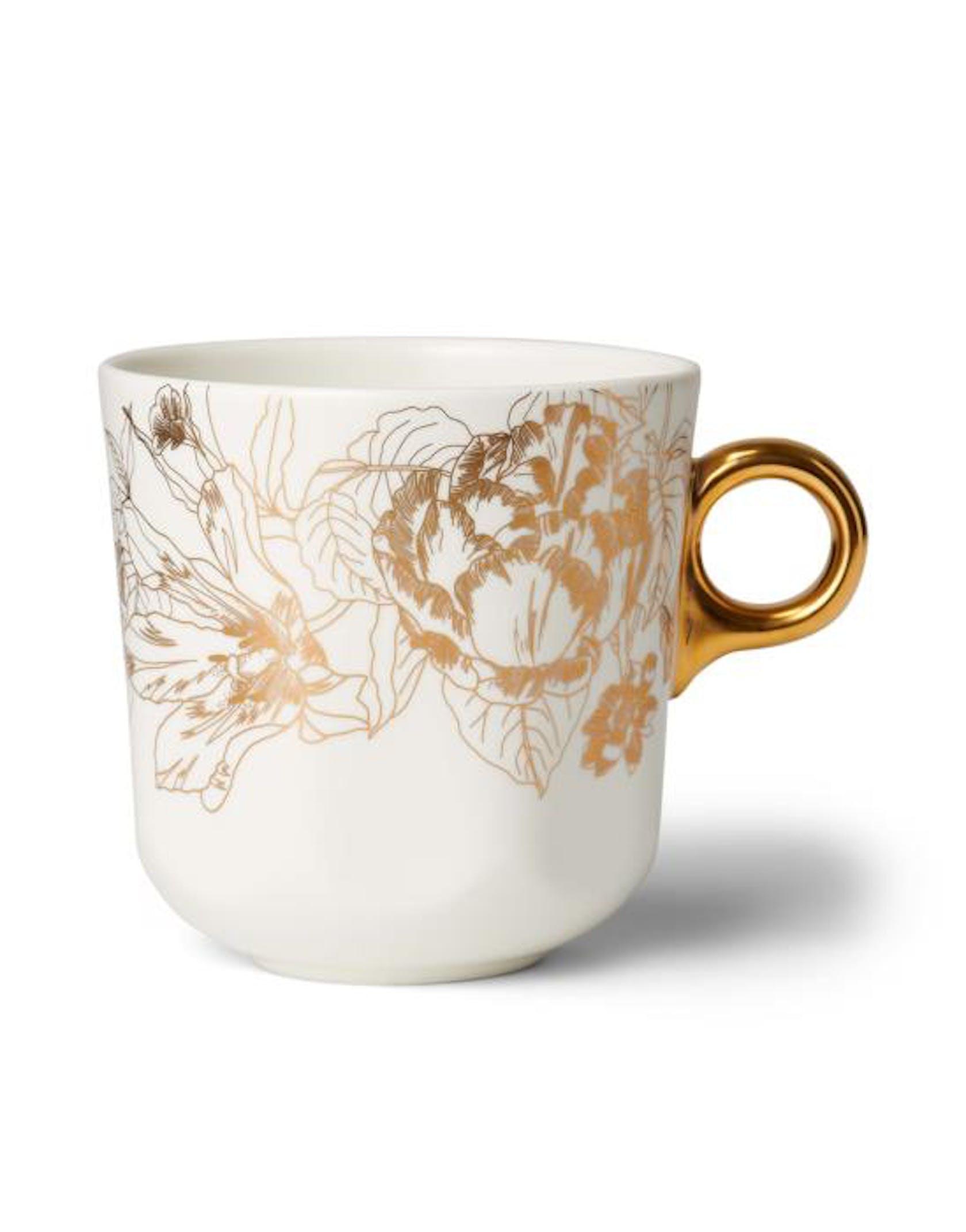 ESSENZA Masterpiece Off white Large mug 33 cl