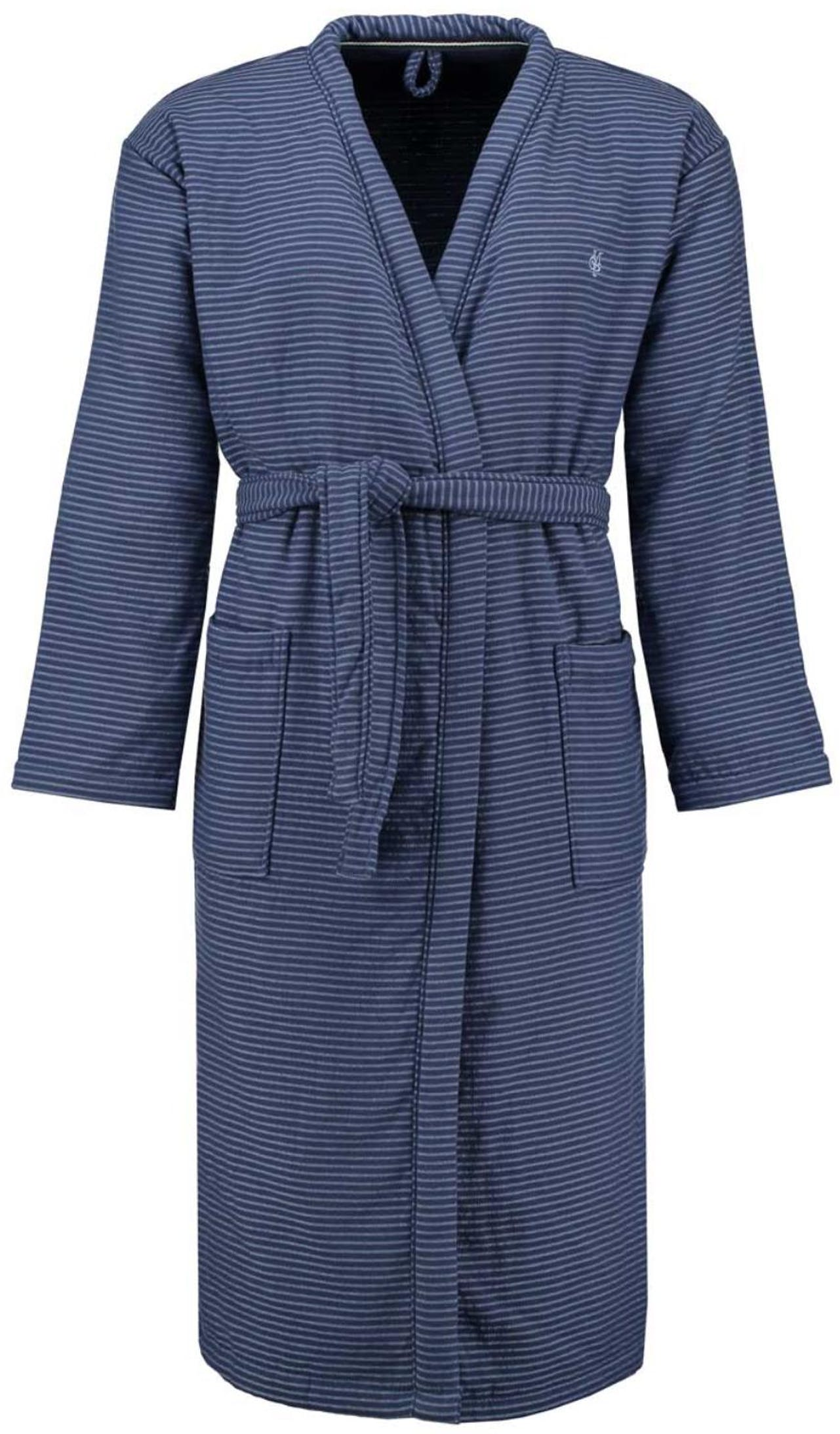 Marc O'Polo Jaik Ocean blue Bathrobe M