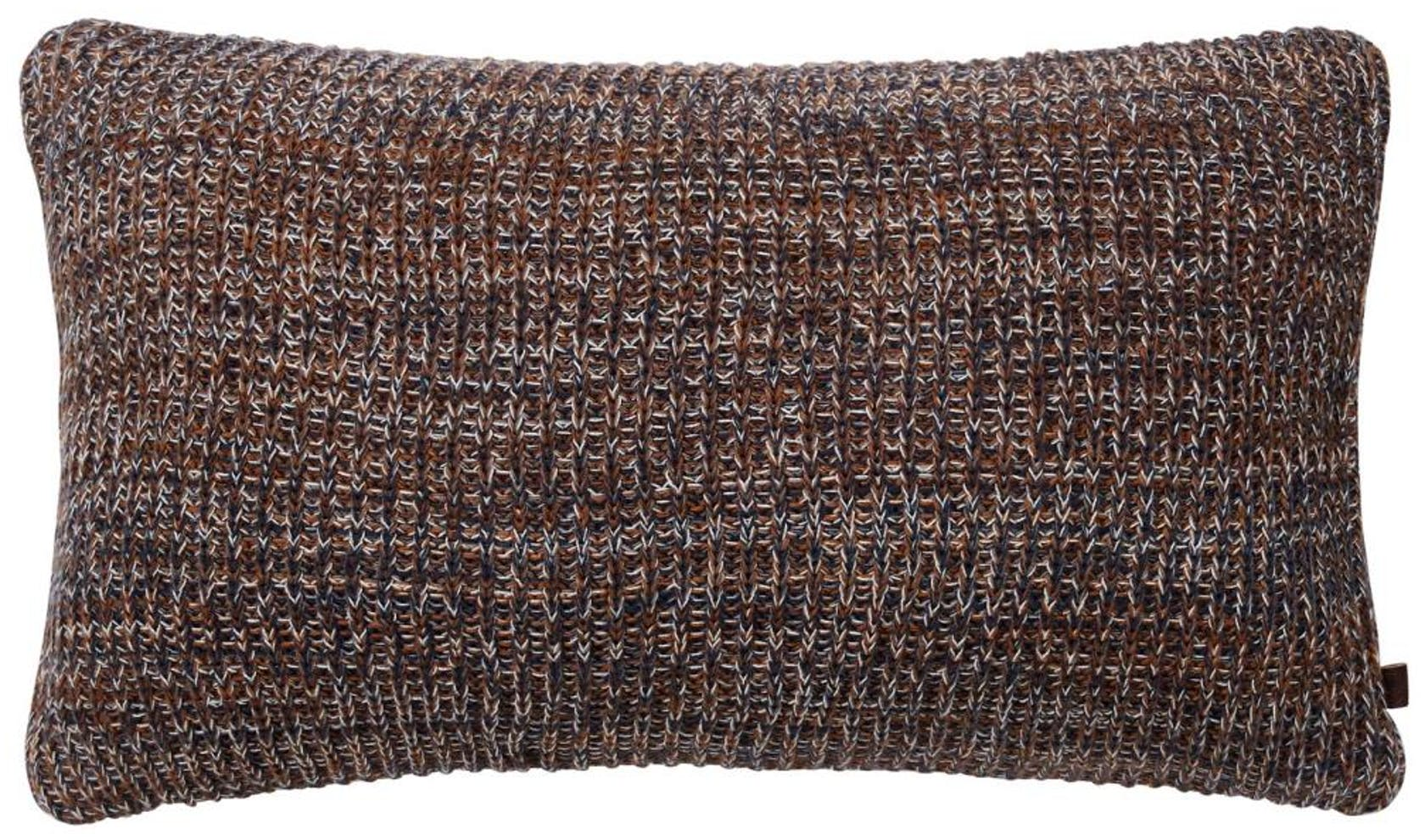 Marc O'Polo Kuara Blue/warm pecan Cushion 30 x 50