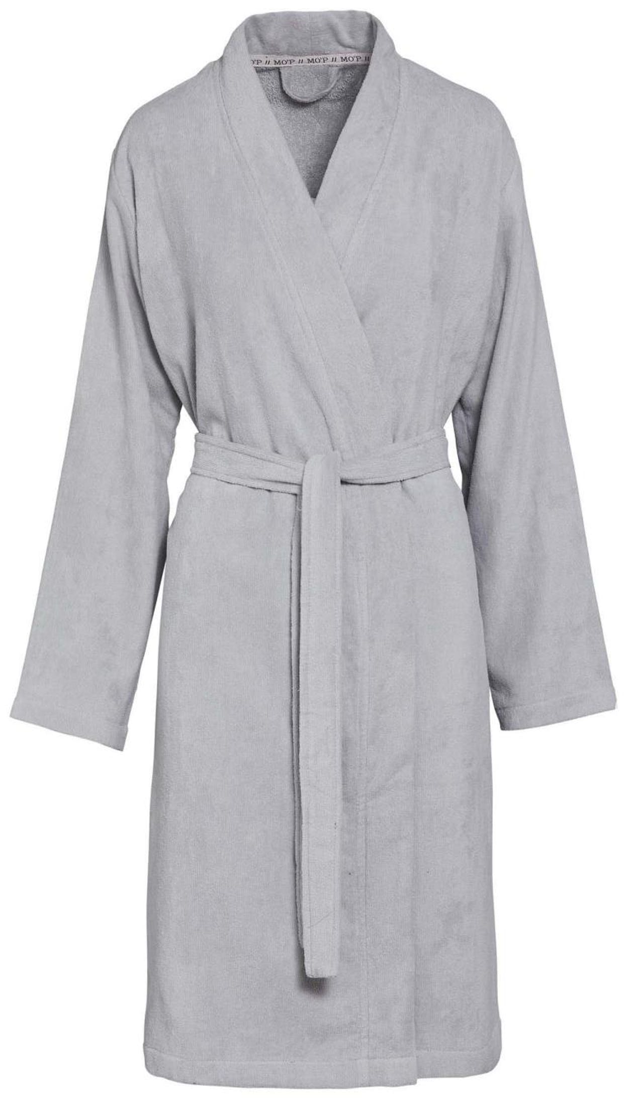 Marc O'Polo Tuppu Soft grey Bathrobe L