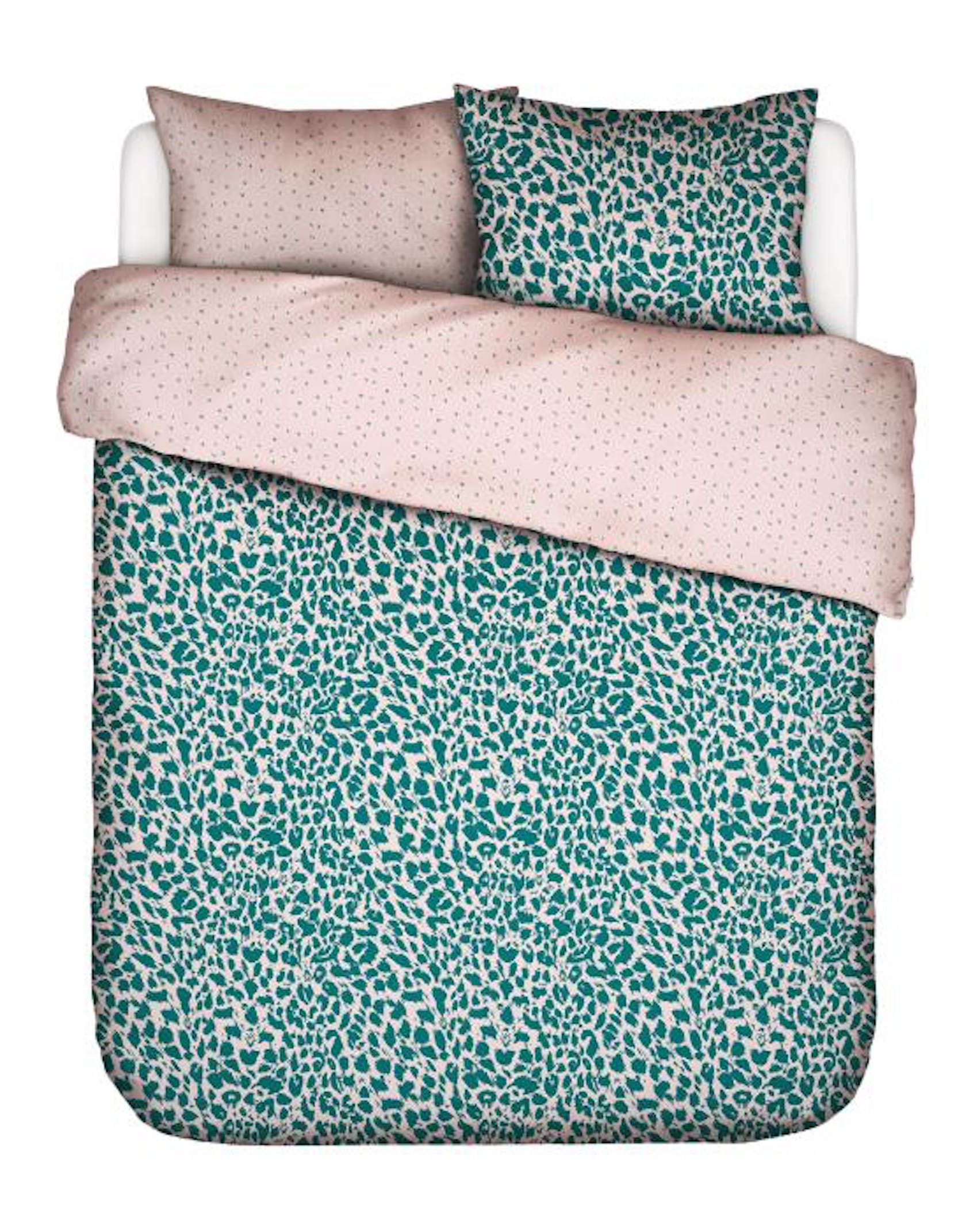 Covers & Co Wild Thing Petrol Duvet cover 240 x 220