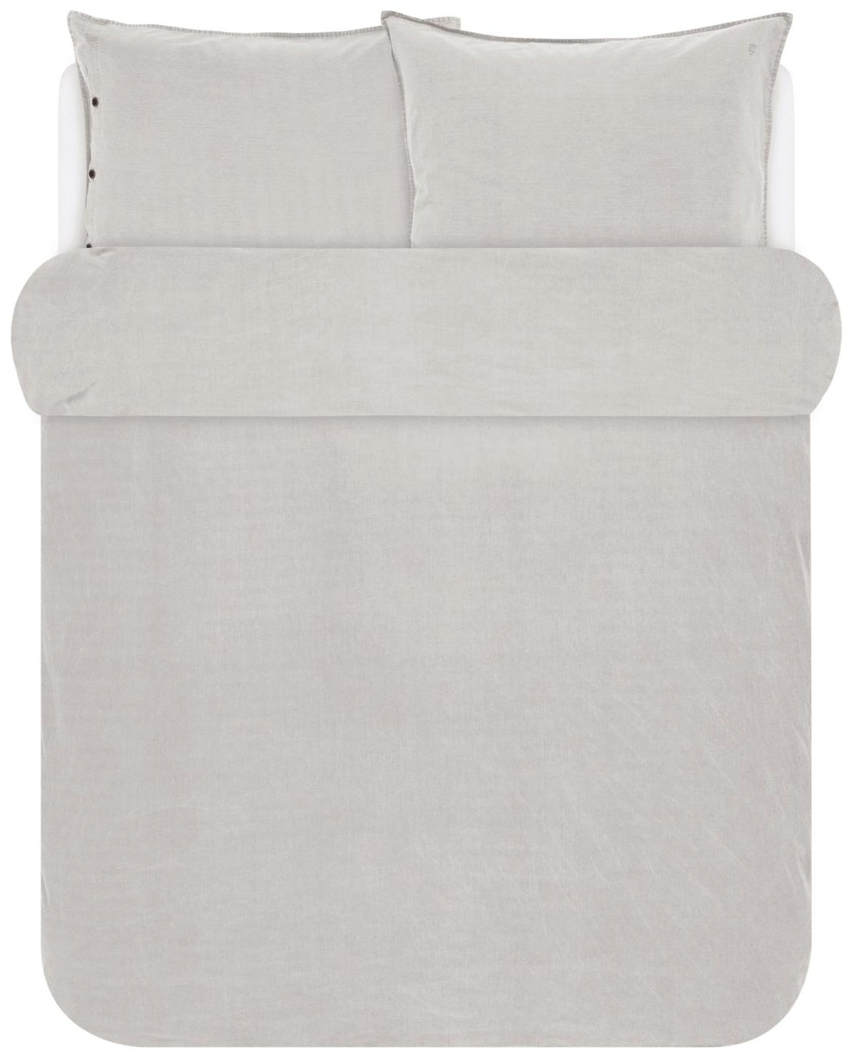 Marc O'Polo Senja Soft oatmeal Duvet cover 200 x 220