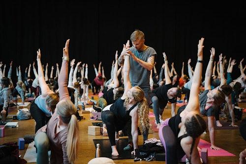 YEZ Yoga Festival in Stuttgart