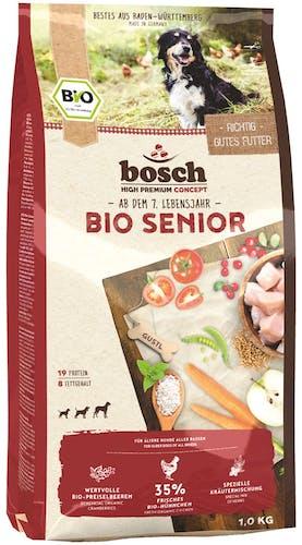 Bosch - Trockenfutter - Bio Senior Hühnchen und Preiselbeere