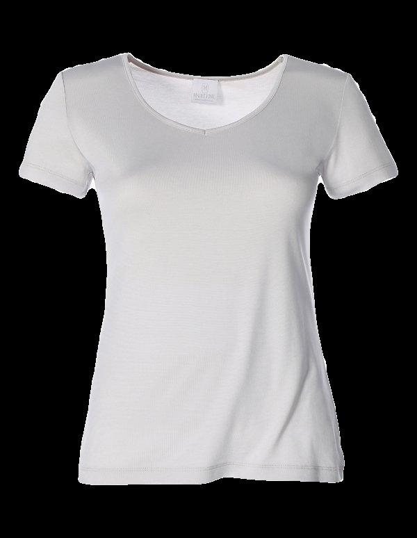 Shirt mit Seide