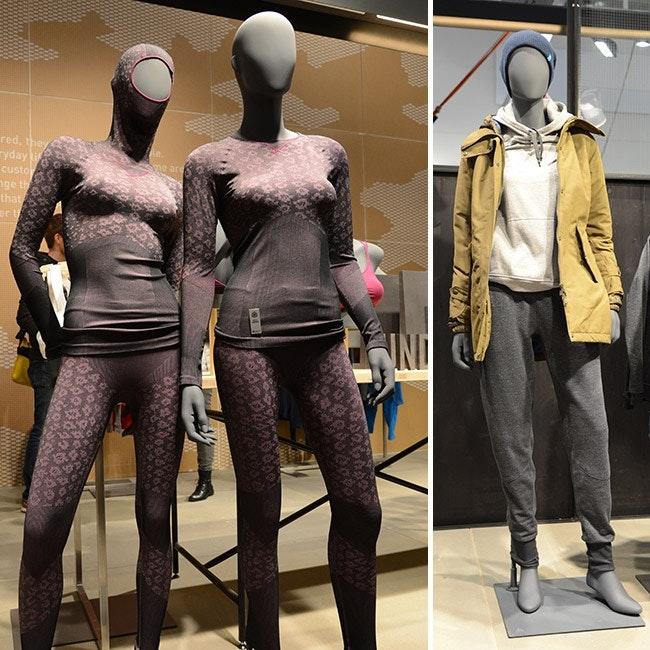 Odlo bringt auch äusserst funktionelle Lifestyle-Looks.