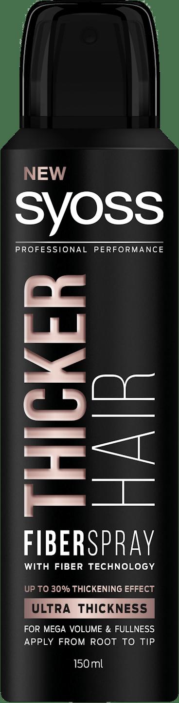 Syoss Thicker Hair Fiber tužidlo shot pack
