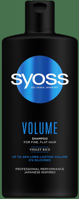 Syoss Volume šampón pack shot