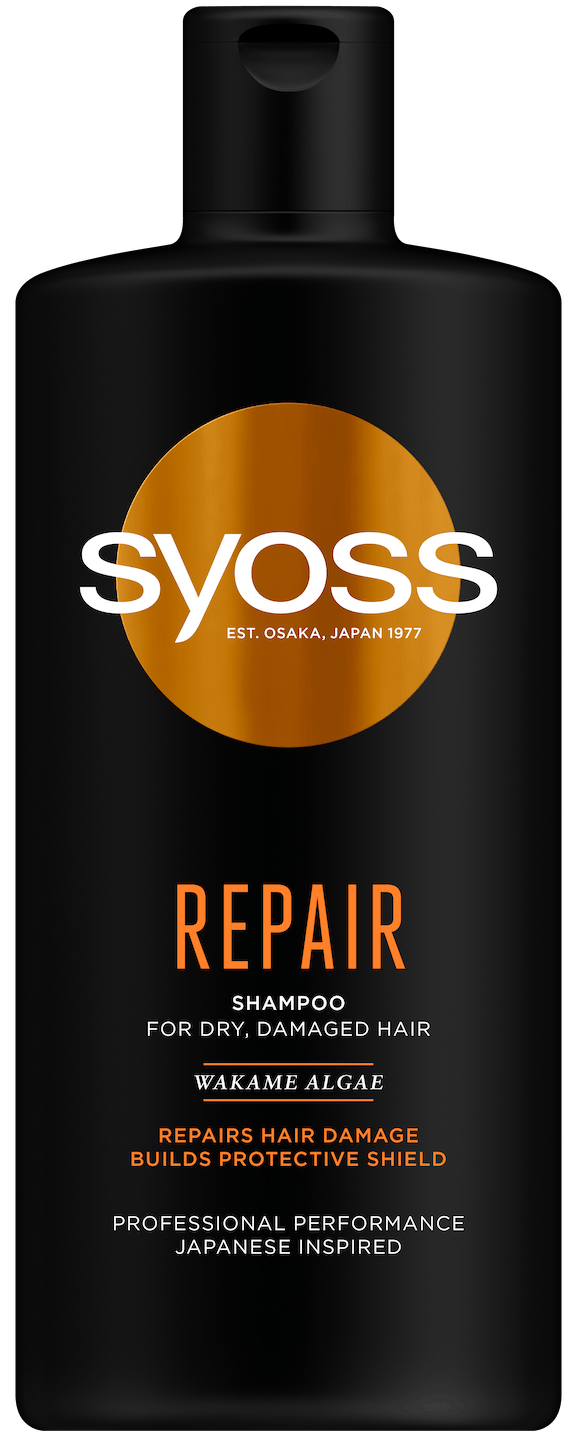 Syoss Repair šampón pack shot