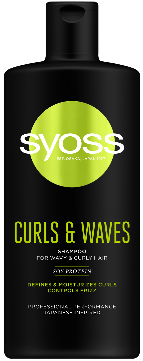 Syoss Curls & Waves šampón pack shot