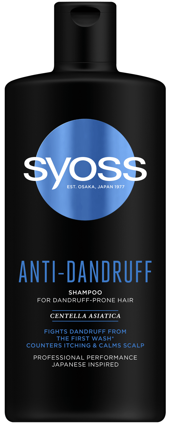 Syoss Anti-Dandruff šampón pack shot