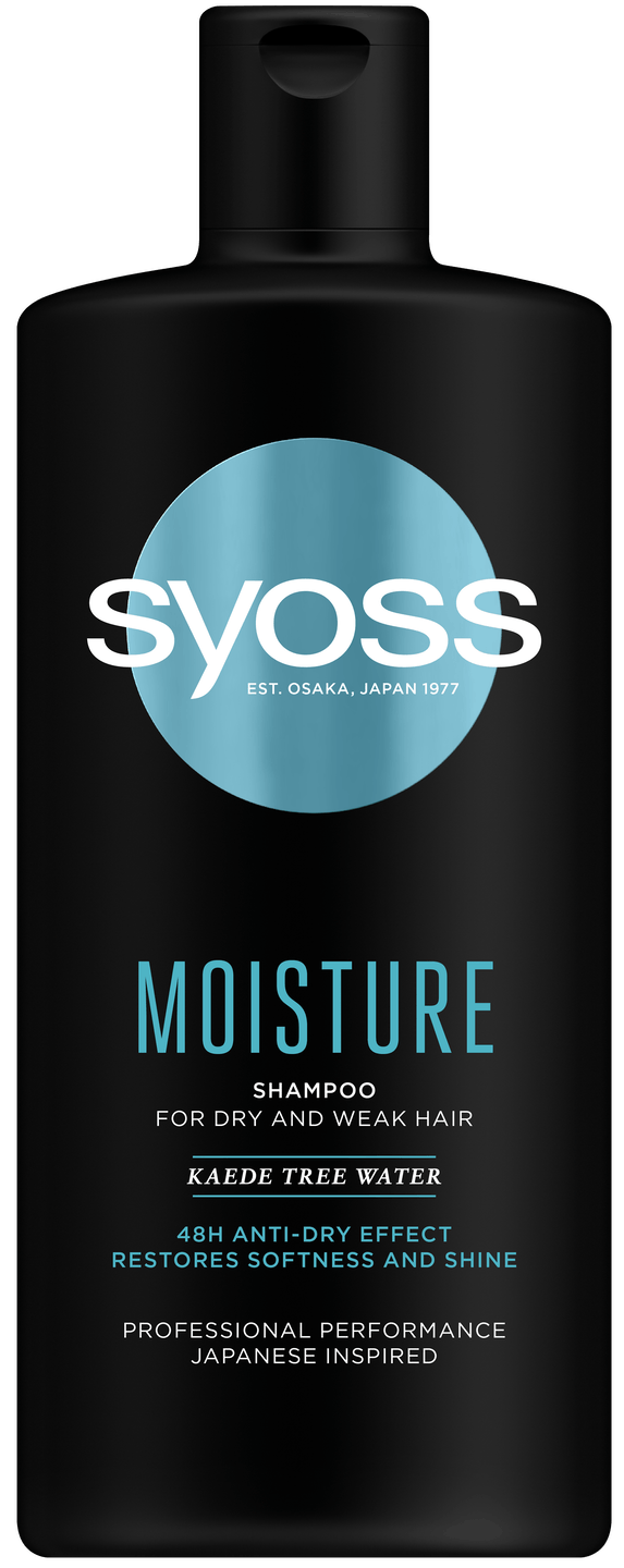 Syoss Moisture šampón pack shot