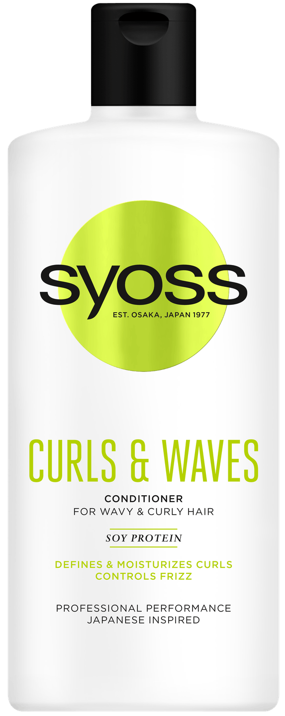 Syoss Curls & Waves kondicionér pack shot