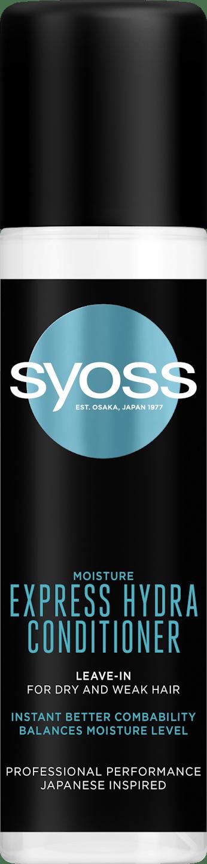 Syoss expresný kondicionér Moisture pack shot