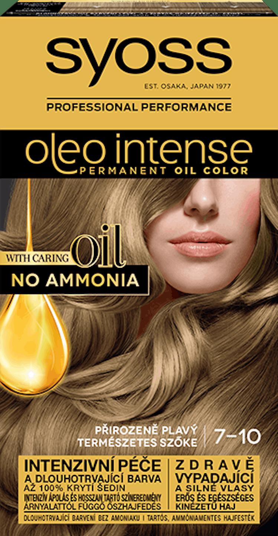 Syoss Oleo Intense trvácna farba Prírodná plavá 7-10 pack shot