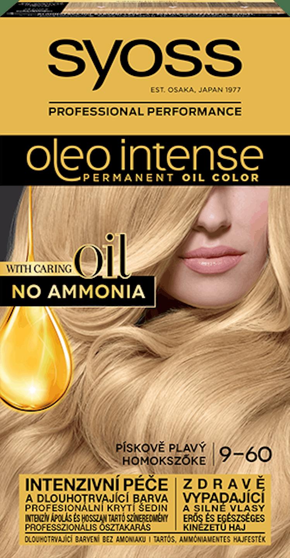 Syoss Oleo Intense trvácna farba Pieskový blond 9-60  pack shot