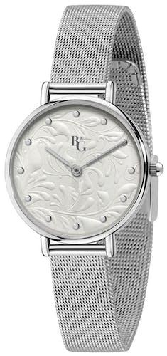 Cette Montre pour Femme B&G PREPPY se compose d'un Boîtier Rond de 34 mm et d'un Bracelet en Métal Gris