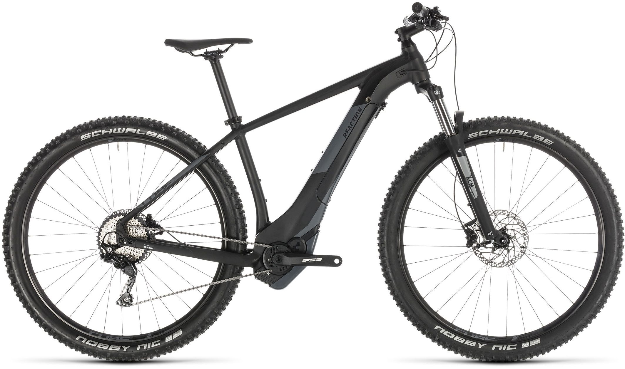 Cube Reaction Hybrid EXC 500 Black (2019) - MTB elettrica