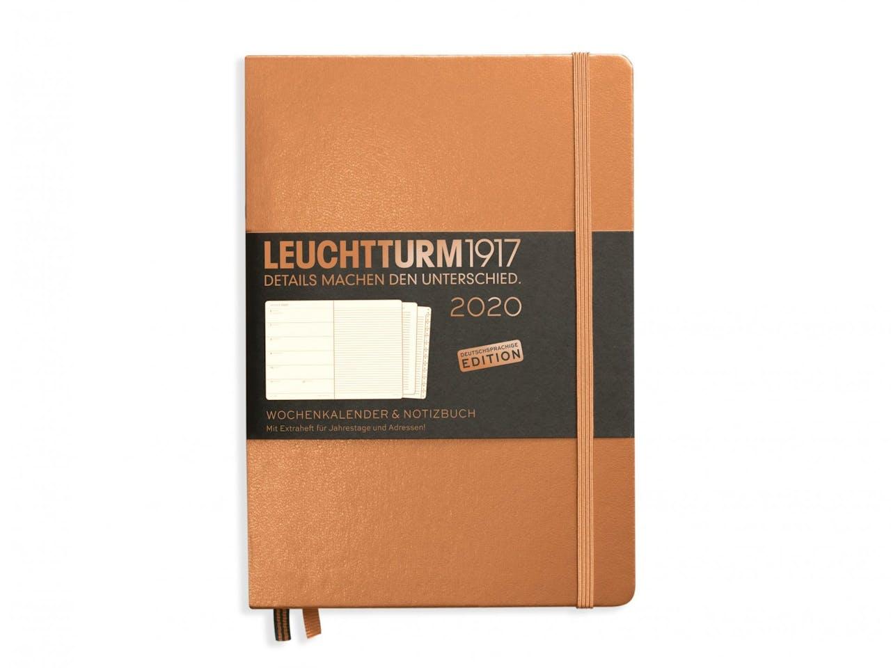Leuchtturm Wochenkalender & Notizbuch 12 Monate