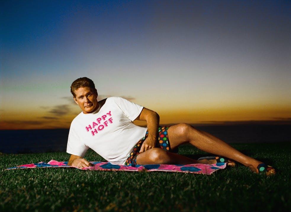 Happy Socks x David Hasselhoff