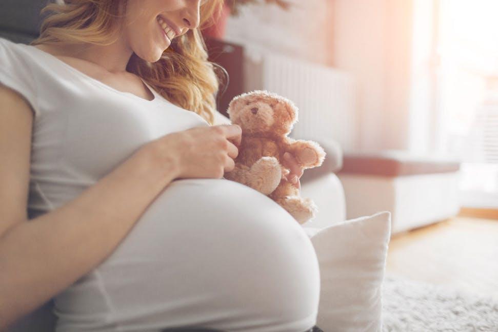 sexy schwangere mutter