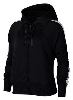 Nike Sweatjacke black and white