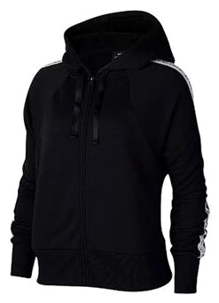 Nike Sweatjacke black and white