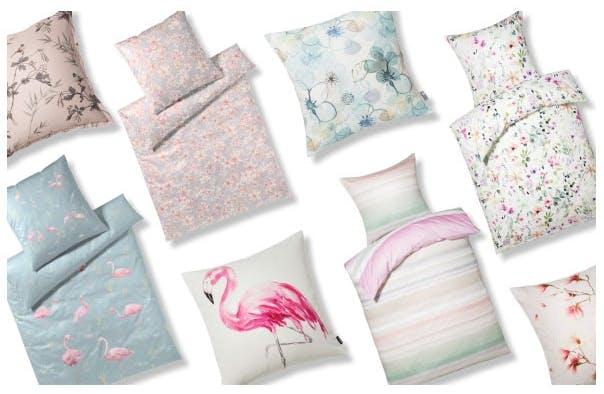 Zarte Pastelltöne stimmen uns auf den Sommer ein und setzen neue frische Akzente in Ihrem Schlaf- und Wohnzimmer.