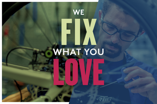 We Fix what you love