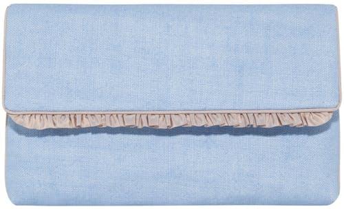 Susanne Spatt, Pochette Clutch, hellblau. Dirndl, Lodenfrey, Munich
