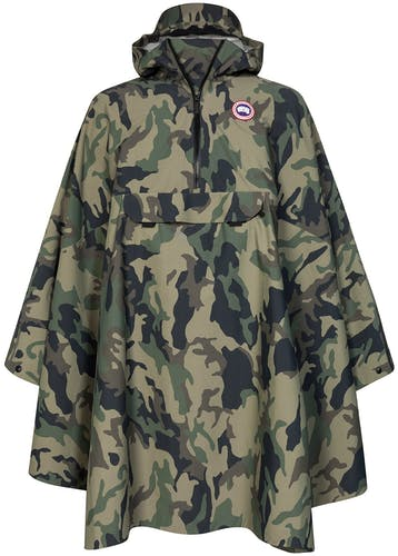 Canada Goose, Poncho, military, camouflage, Spring-Summer Collection 2019, rain, protection, Lodenfrey, Munich