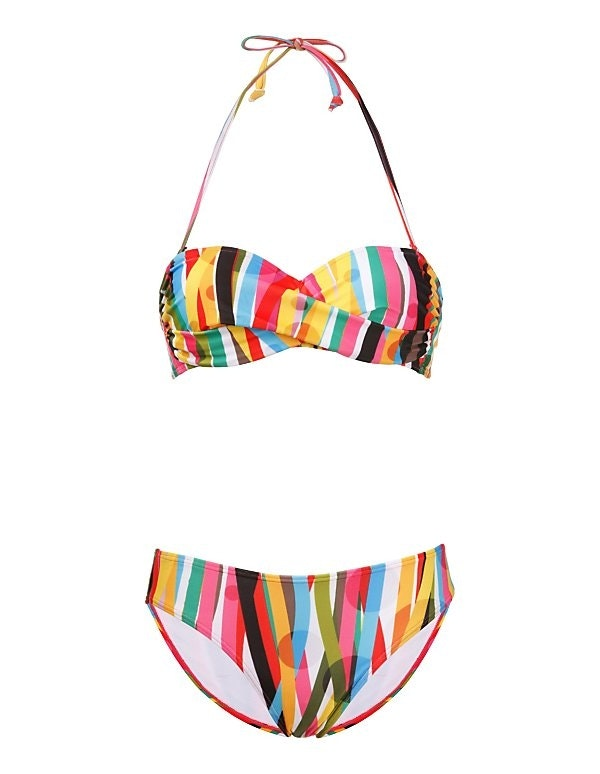 Bikini mit Muster