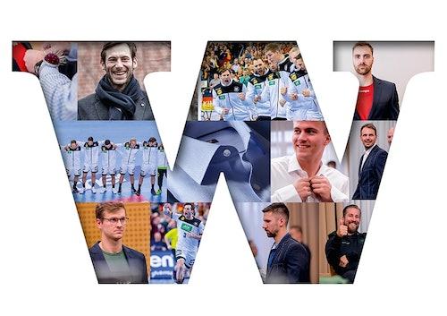 Collage, Deutsche Handball Nationalmannschaft