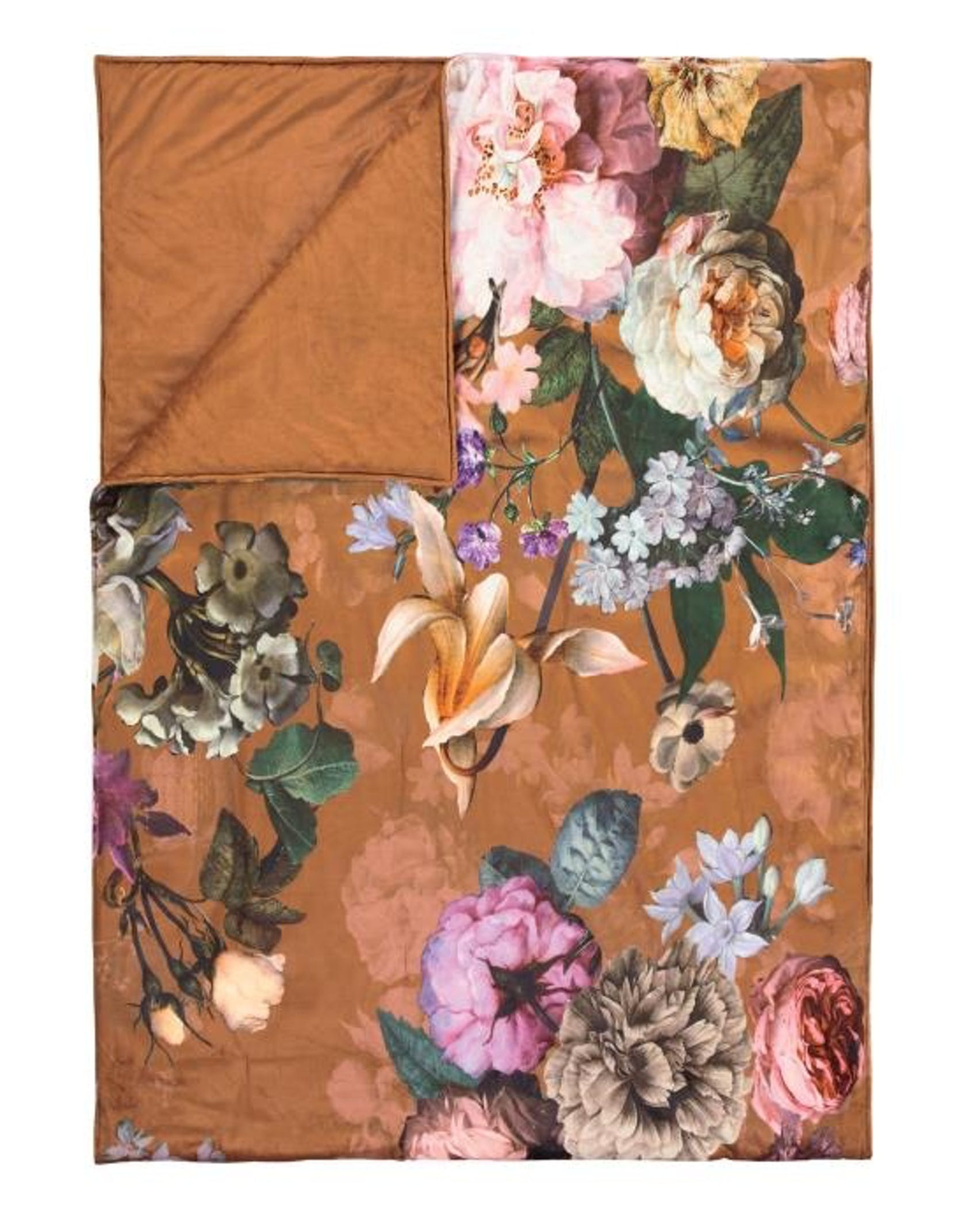ESSENZA Fleur Quilt Leather Brown