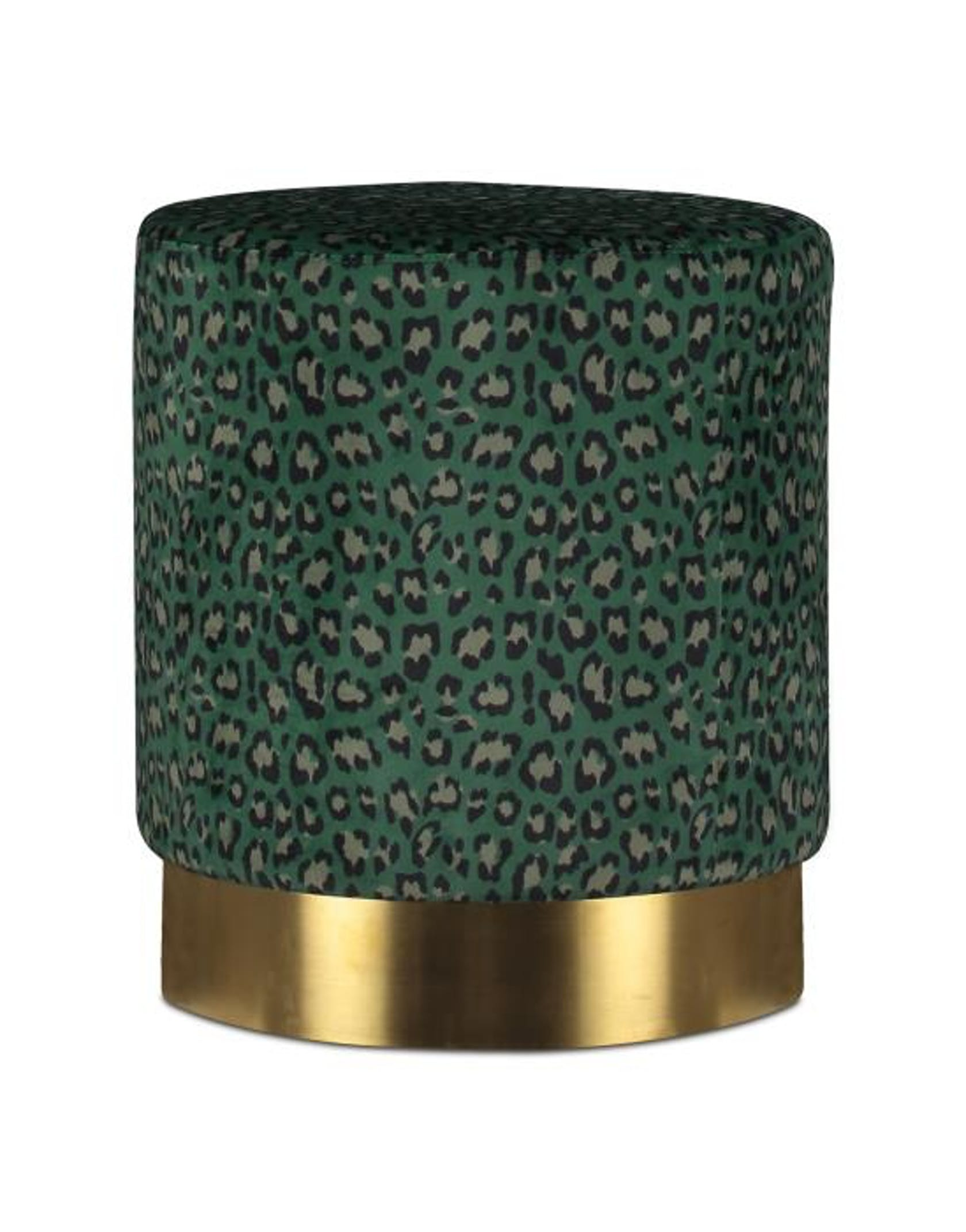 ESSENZA Bory Pouf Green