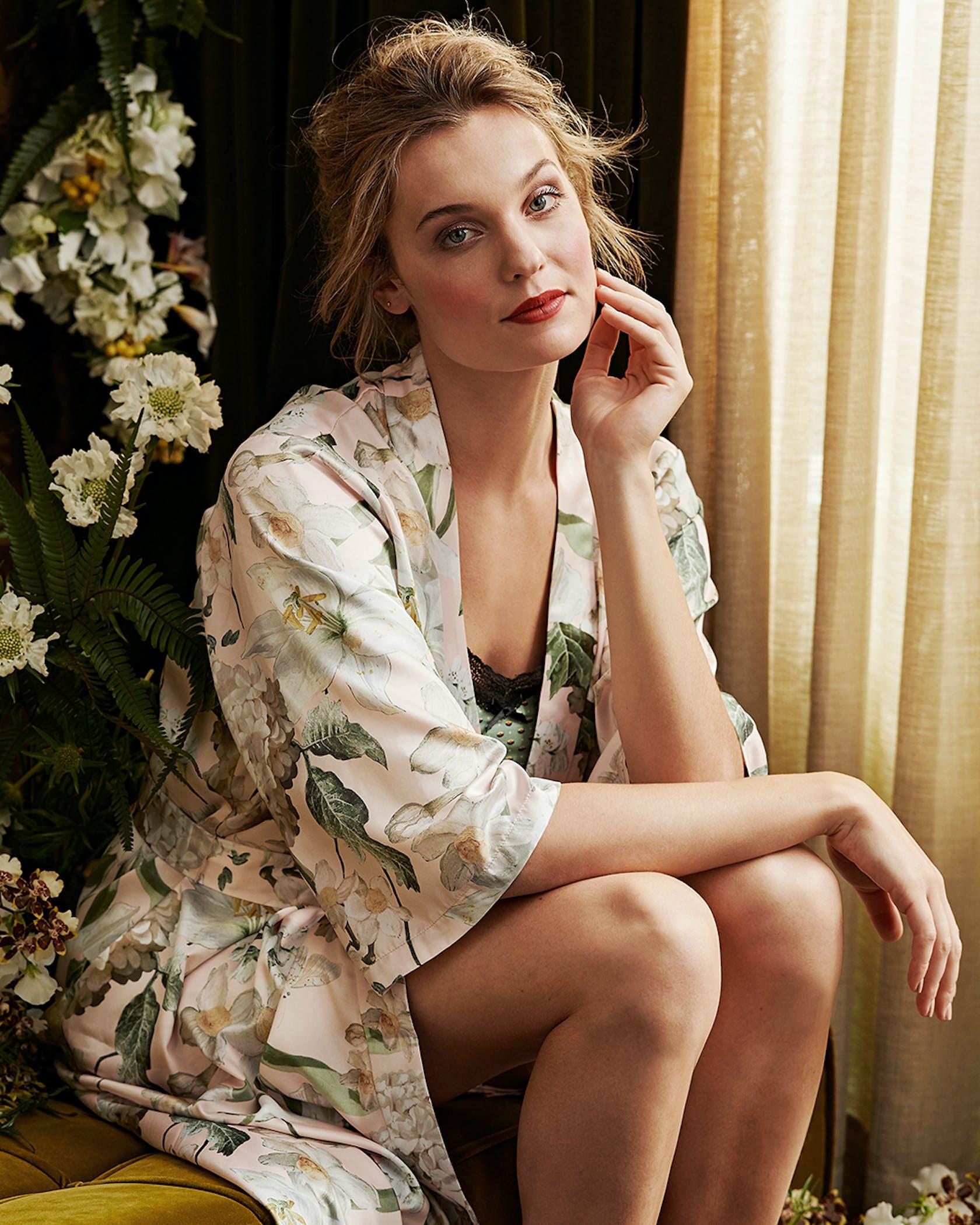 ESSENZA Rosalee Kimono Blush
