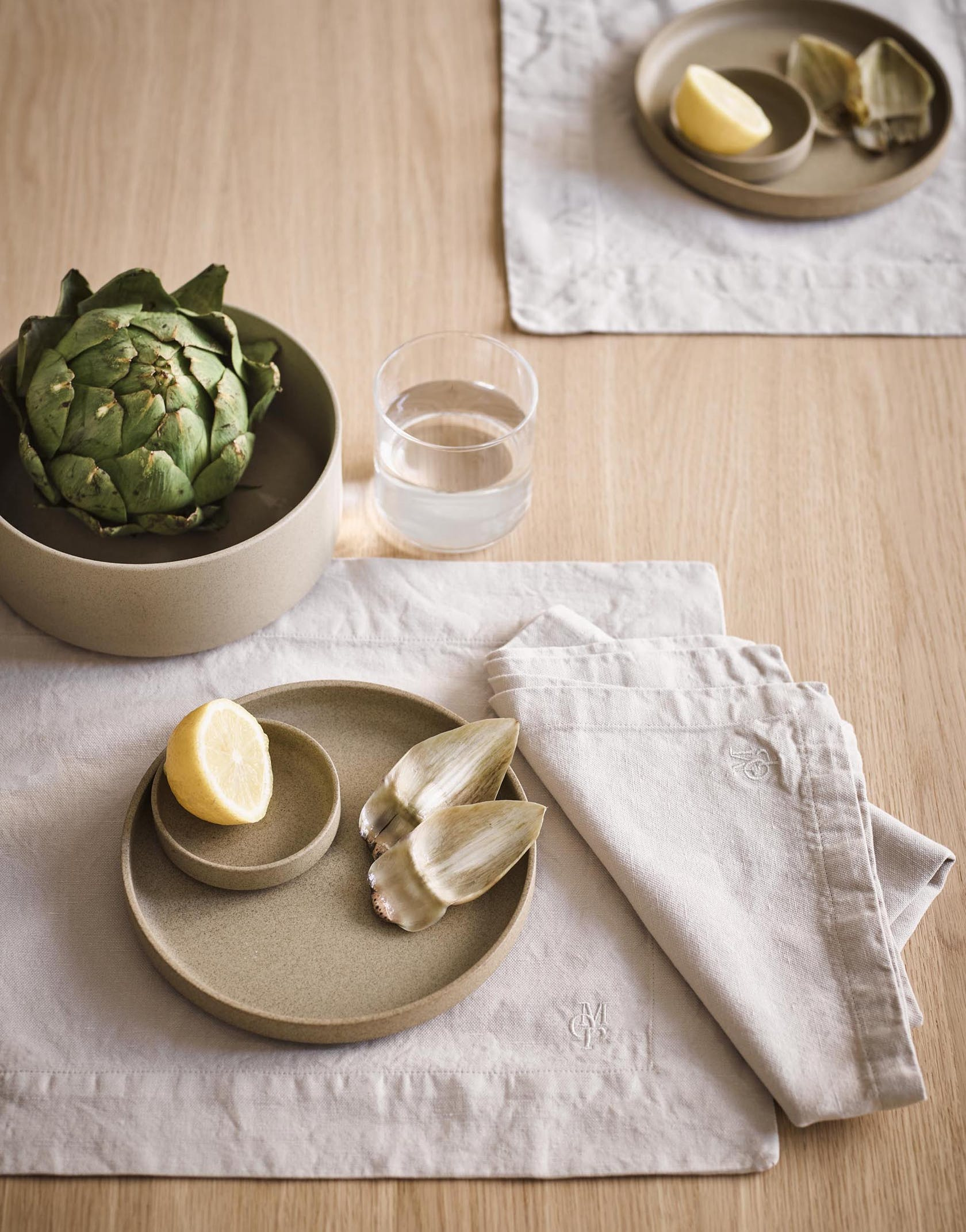 MARC O'POLO sustainable table and kitchen textiles collection