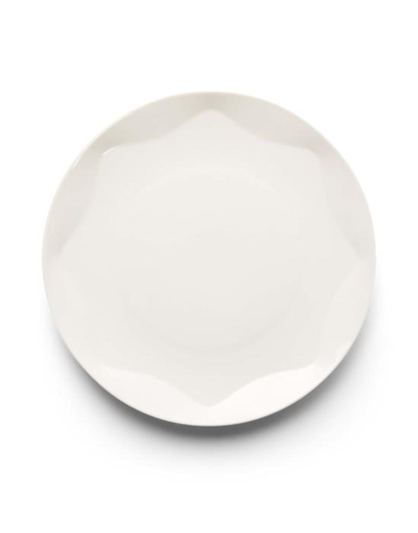 ESSENZA Sculpture Dinerbord  Off white