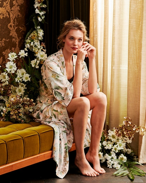 ESSENZA Ilona Rosalee Kimono Bloemen Rose