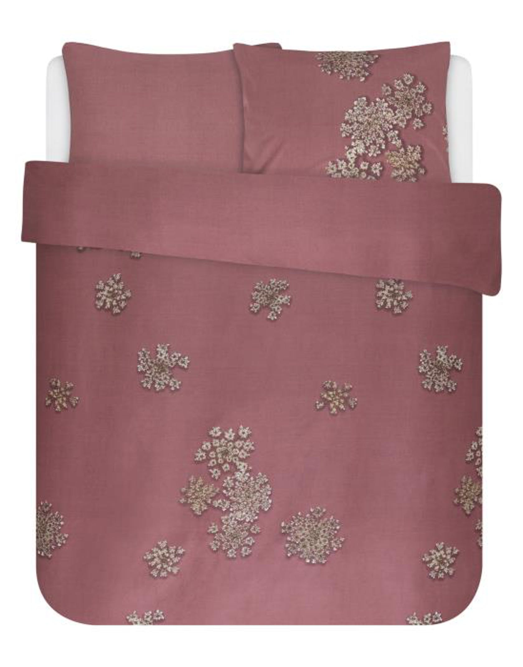 Essenza Lauren Duvet cover Dusty Rose