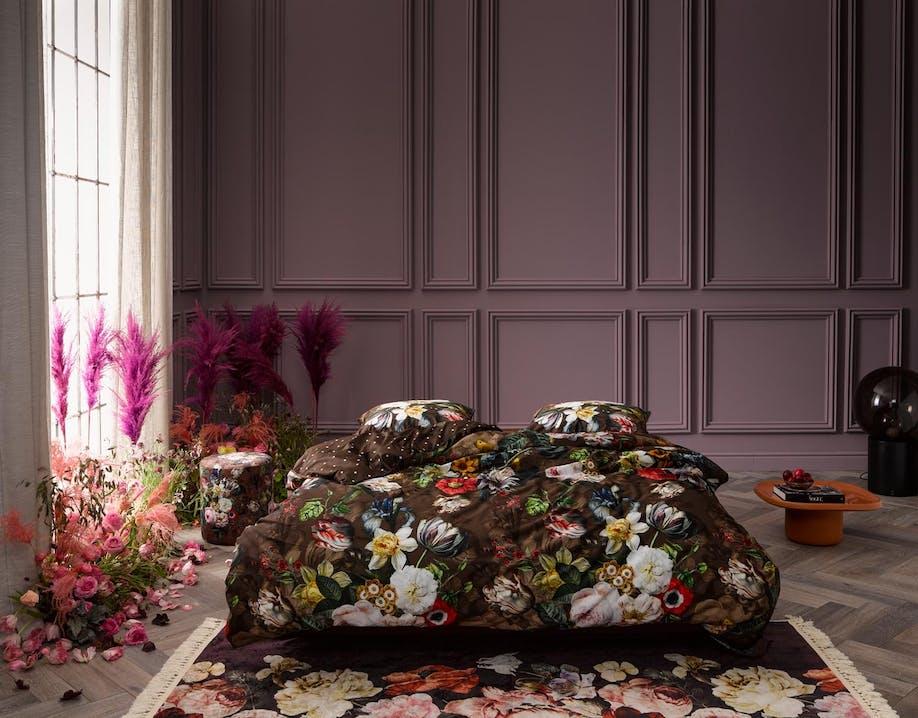 ESSENZA Giselle Chocolate Dekbedovertrekset 240 x 220 cm