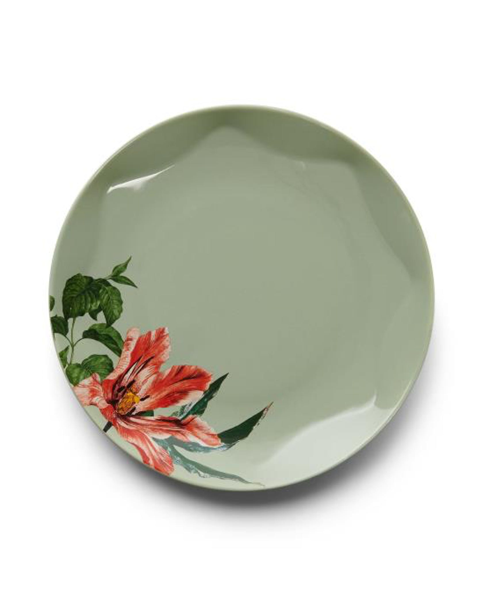 ESSENZA Gallery  Side plate Stone green