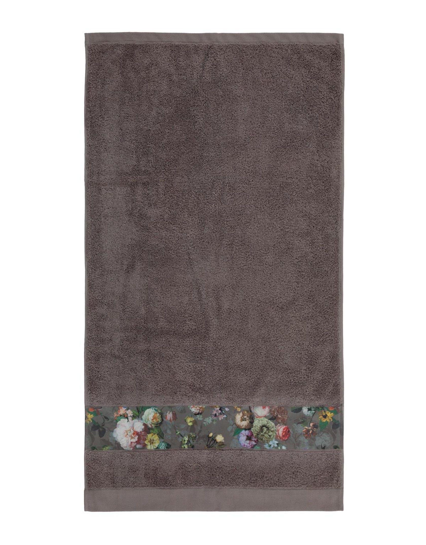 ESSENZA Fleur Taupe Handdoek 60 x 110 cm