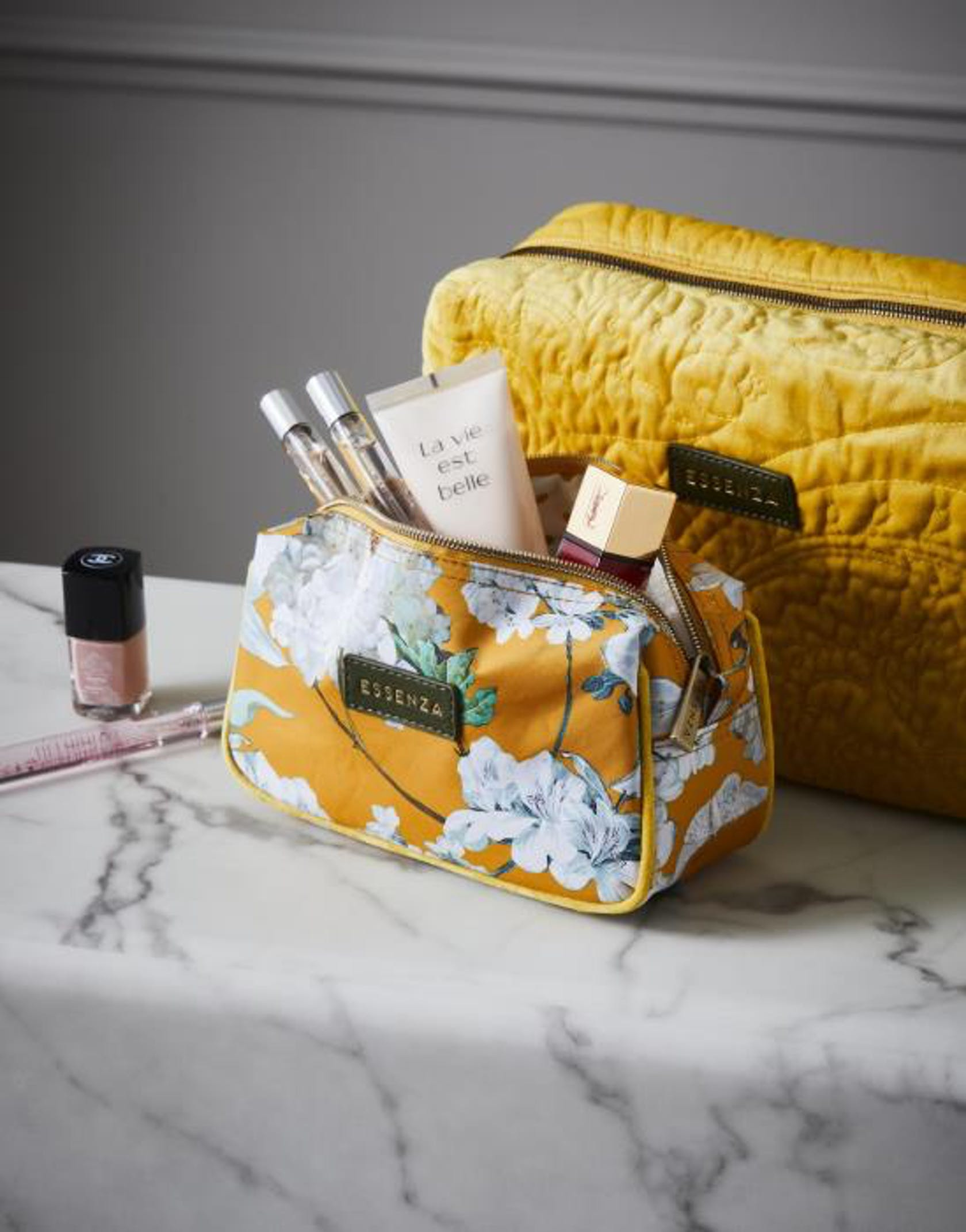 ESSENZA Megan Rosalee  Cosmetic Bag Mustard