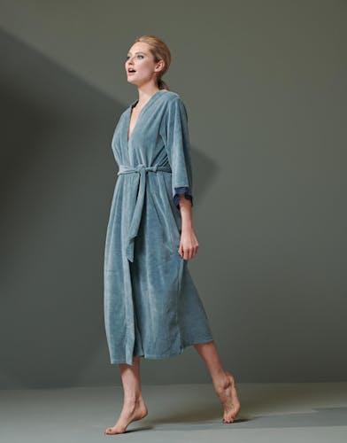 ESSENZA Ilona Uni Denim Blue Kimono
