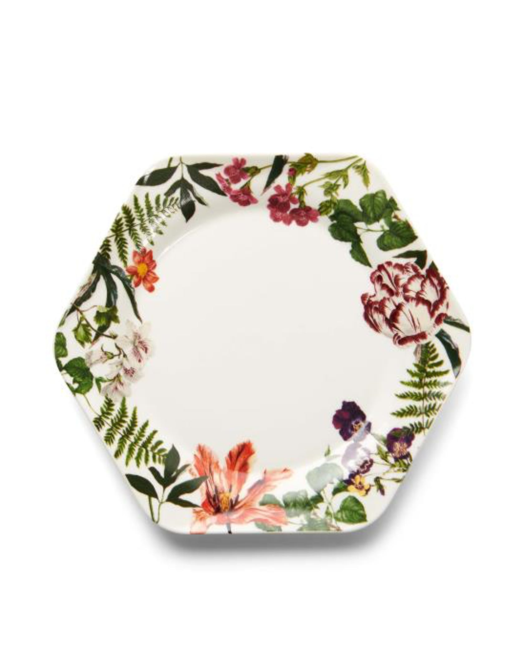 ESSENZA Gallery  Cake plate Off white