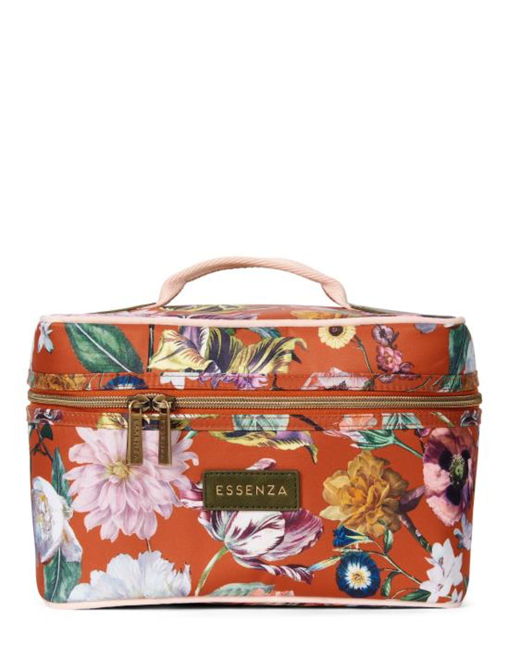 ESSENZA Tracy Filou Beauty Case Bloemen Caramel