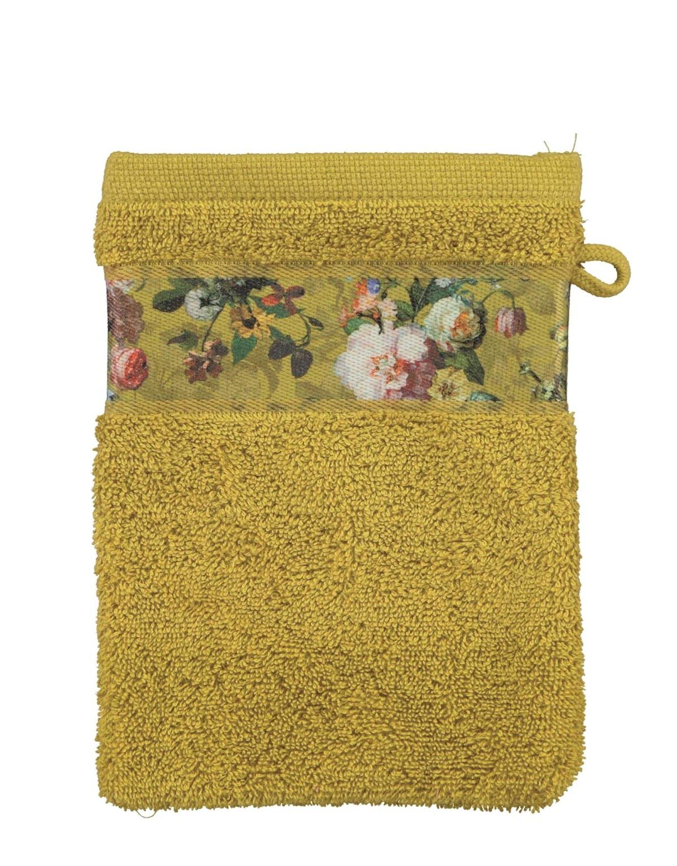 ESSENZA Fleur Geel Washand 16 x 22 cm